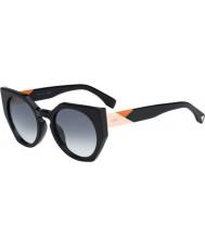 Fendi Fasety FF 0151-S 807 Jj černé sluneční brýle