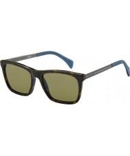 Tommy Hilfiger Pánská th 1435-S 0EX A6 tmavé sluneční brýle Havana ruthenium