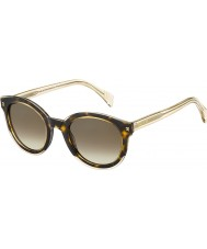 Tommy Hilfiger Dámy tého 1437-S ky1 J6 žluté Havana béžové sluneční brýle